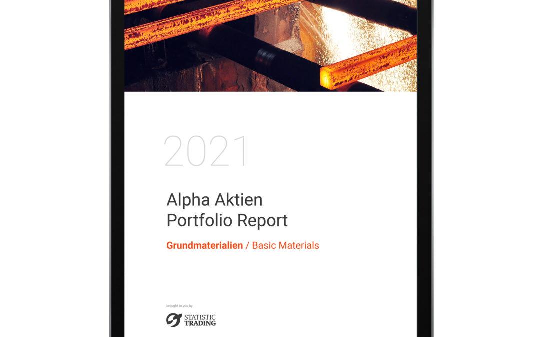 Alpha-Aktien-Portfolio-Report Januar/2021 –  Sektor Grundmaterialien